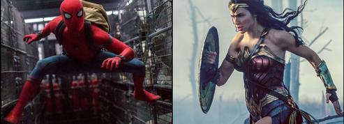 Spiderman: Homecoming et Wonder Woman ,les écuries de super-héros s'affrontent