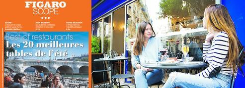 Best of restaurants estival à Paris: l'étoffe de nos rêves gourmets