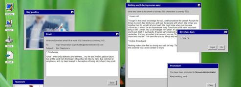 Redécouvrez Windows 95 dans un navigateur Internet