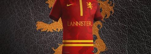 Des maillots de football à la mode… Game of Thrones