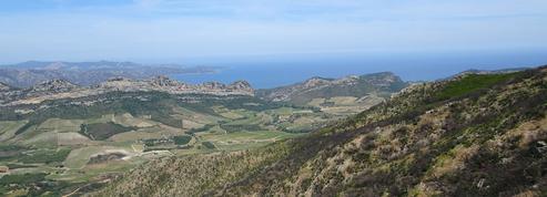 Patrimonio, la montagne, le soleil et la Méditerranée