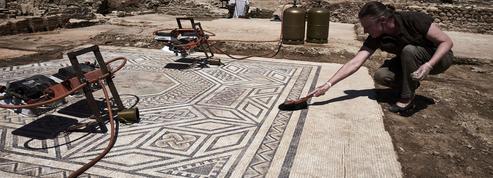 Découverte d'une cité antique au bord du Rhône