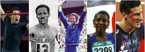 ●Les cinq plus grands exploits de l'athlétisme français