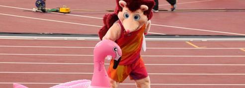 Hero le hérisson, la vedette déjantée des Mondiaux d'athlétisme de Londres