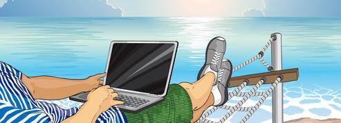 Seuls 33% des Français ne travaillent pas durant leurs vacances