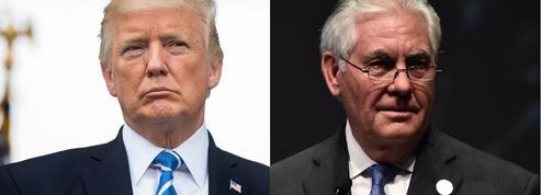 La passe d'armes entre Donald Trump et Rex Tillerson en quatre actes