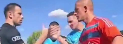En Serbie, un gardien a joué avec… un maillot de l'OM