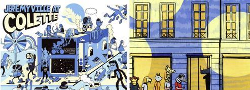 Un hommage très illustré pour la fermeture de la boutique Colette