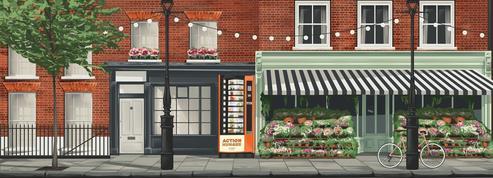 Au Royaume-Uni, des distributeurs de nourriture gratuite pour les sans-abri