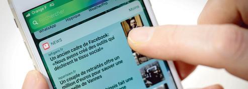 Apple s'impose dans la bataille de l'info mobile en France