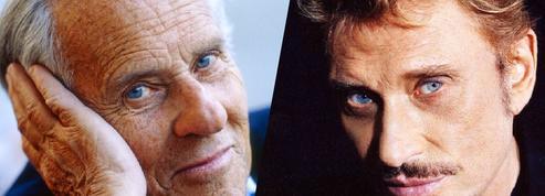 Derrière les yeux bleus de Jean et Johnny…