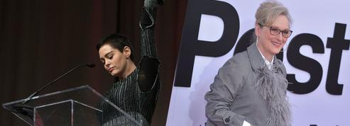 Affaire Weinstein: Rose McGowan s'attaque à «l'hypocrisie» de Meryl Streep
