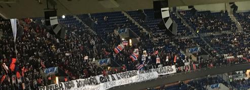 Sifflets contre Neymar : la banderole des supporters du PSG au Brésilien