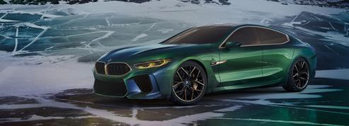 BMW Concept M8 Gran Coupé, un coupé 4 portes de sport