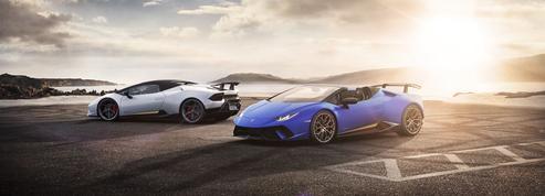 Lamborghini Huracan Performante Spider, l'Italie flamboyante