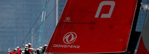 L'émotion de l'équipage Dongfeng team sur la Volvo Ocean Race