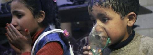 Syrie: suspicion de bombardement à l'arme chimique à Douma