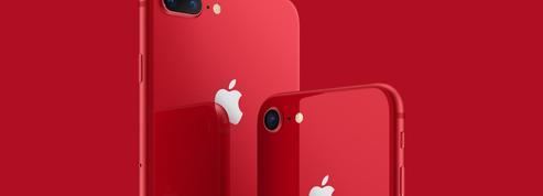 Apple sort une version rouge de l'iPhone 8