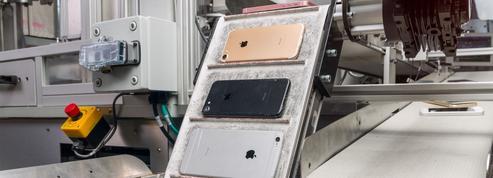 Daisy, le robot d'Apple capable de démanteler et trier 200 iPhone par heure