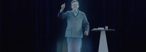 Jean-Luc Mélenchon, révolutionnaire en hologramme