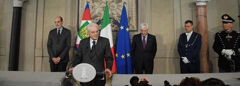 En Italie, le blocage est total