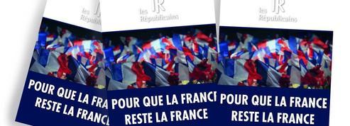 «Pour que la France reste la France» : un tract des Républicains suscite la polémique