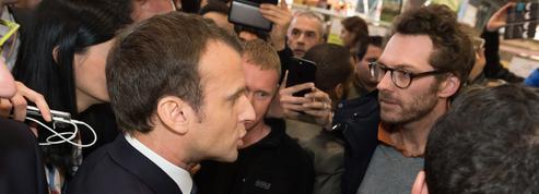 Au fil de ses déplacements, Macron a fait de ses coups de sang une marque de fabrique