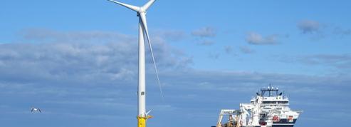 EDF inaugure un parc pilote de 5éoliennes au Royaume-Uni