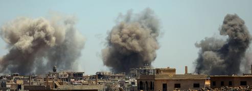 Syrie : au moins 45.000 civils fuient les combats dans le Sud
