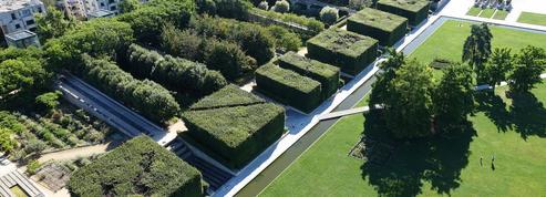 Le parc André-Citroën, un jardin ouvert sur la Seine