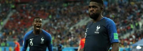 La célébration du but d'Umtiti : «C'est un fou, il est bizarre» plaisante Pogba