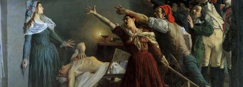 13 juillet 1793 : Charlotte Corday assassine le citoyen Marat dans sa baignoire