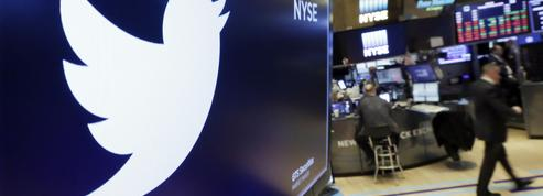 Twitter perd un million d'utilisateurs, l'action plonge en Bourse