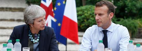 Brexit: Macron et May au fort de Brégançon