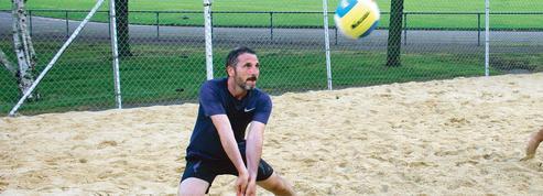 Matthieu Orphelin, accro au beach-volley