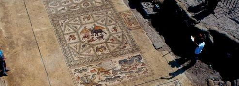 En construisant un musée de la mosaïque, les ouvriers découvrent... une mosaïque de 1700 ans
