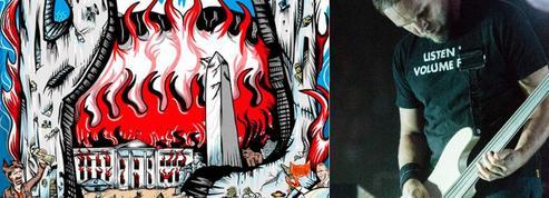 Les Républicains s'insurgent contre une affiche de Pearl Jam qui fait flamber la Maison-Blanche