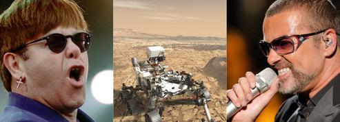 Elton John ou George Michael choisis pour «réveiller» le robot Opportunity sur Mars
