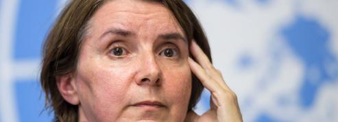 Catherine Marchi-Uhel , la juge chargée de recueillir les preuves des crimes en Syrie