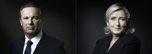 Nicolas Dupont-Aignan ne dira «jamais de mal» de Marine Le Pen