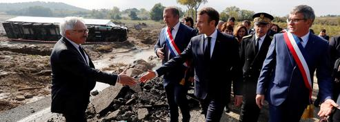 Macron aux sinistrés de l'Aude : «On sera là dans la durée»