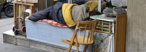 À Paris, près de la moitié des sans-abri sont à la rue depuis plus d'un an