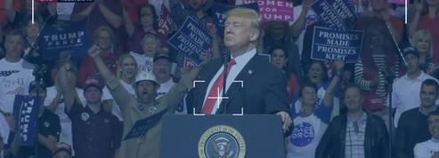 On a analysé un discours de Trump, voici ce qu'on a retenu