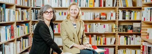 Delphine Bouétard et Anne-Laure Vial, la religion du livre