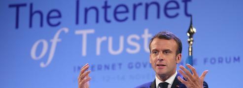 Pour Macron, la survie d'Internet passe par davantage de régulation