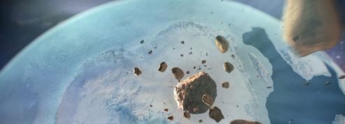 Un gigantesque cratère d'impact aurait été découvert sous les glaces du Groenland