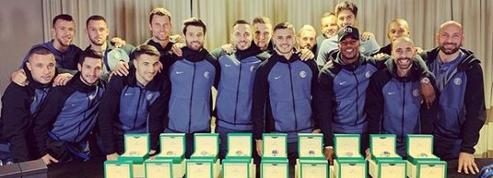 Icardi offre une Rolex à ses coéquipiers de l'Inter Milan