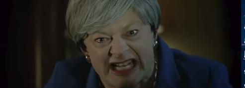 Theresa May, méchamment caricaturée par l'acteur de Gollum, est folle de son Brexit