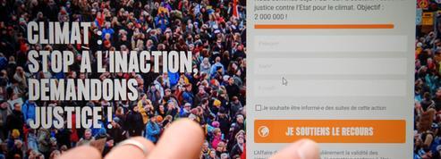 Climat: une pétition contre l'Etat mobilise 2 millions de signataires