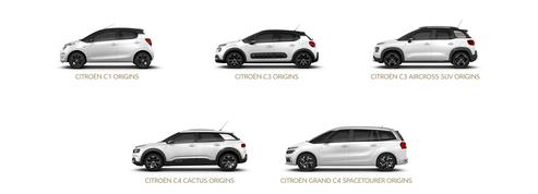 Citroën «Origins» : une édition spéciale anniversaire